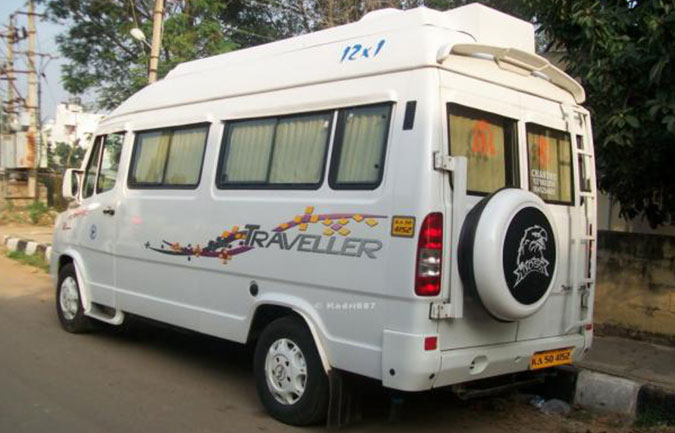 Tempo traveller hire bangalore